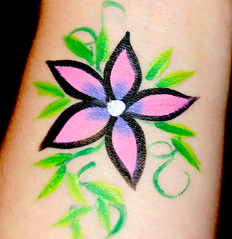 the gallery for gt small face painting designs for beginners