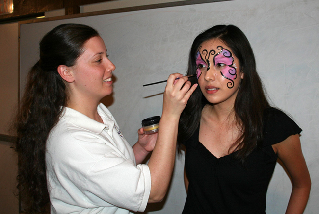 face painting classes