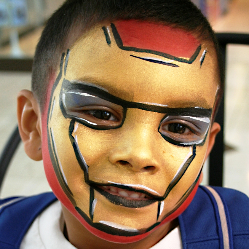 hire a face painter in orange county